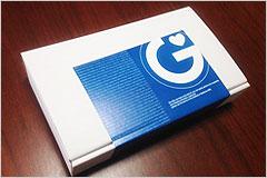 STD検査キットの箱の写真