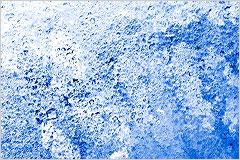 凍結した氷の結晶の写真
